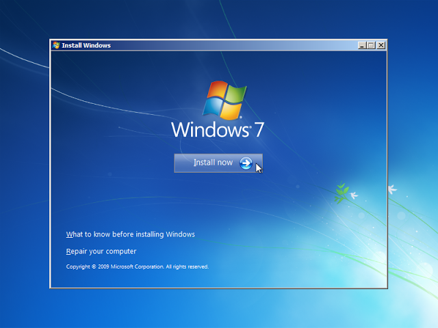 cara format laptop windows 7