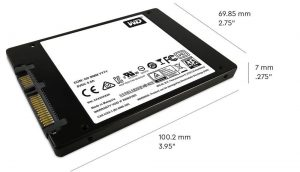 Western Digital Blue SSD 2.5-inch